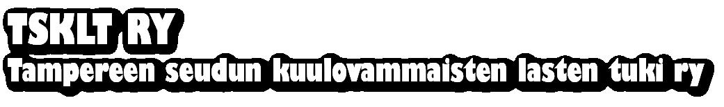 Tampereen seudun kuulovammaisten lasten tuki ry Logo